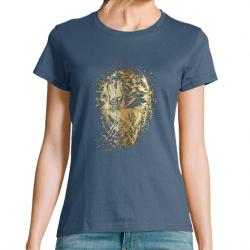T-Shirt Femme Golden Lion