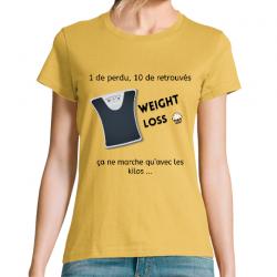 T-shirt Femme Weight Loss