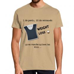 T-Shirt Homme Weight Loss